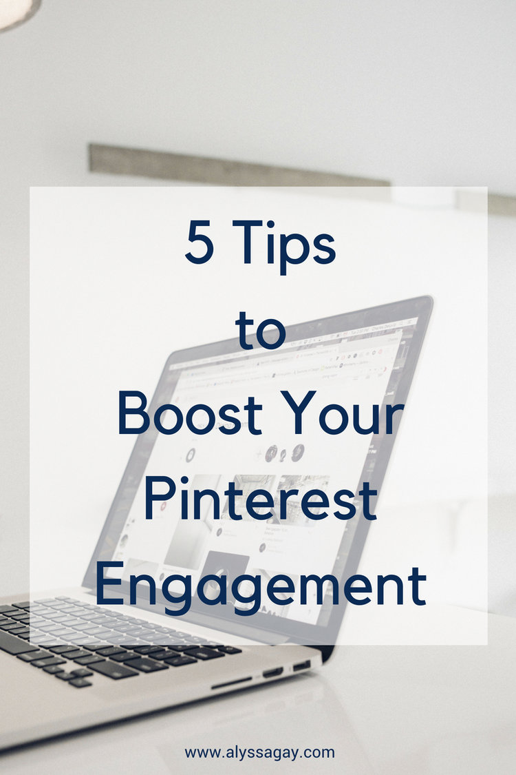 5 Tips to Boost Your Pinterest Engagement, pinterest, pinterest marketing, social media marketing, social media engagement, online marketing, digital marketing, social media marketing tips, instagram tips, tampa, tampa bay, st petersburg, sarasota, florida