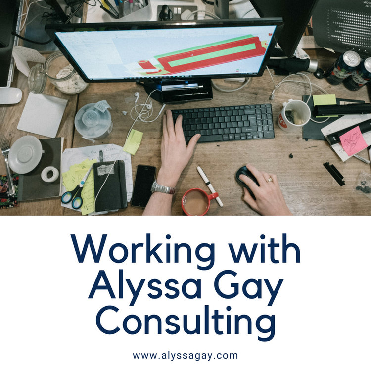 Working With Alyssa Gay Consulting, social media, social media marekting, digital marketing, email marketing, email newsletters, customer management, website updates, social media, small business marketing, marketing plan, sarasota, lakewood ranch, st petersburg, tampa bay, florida, alyssa gay, alyssa gay consulting